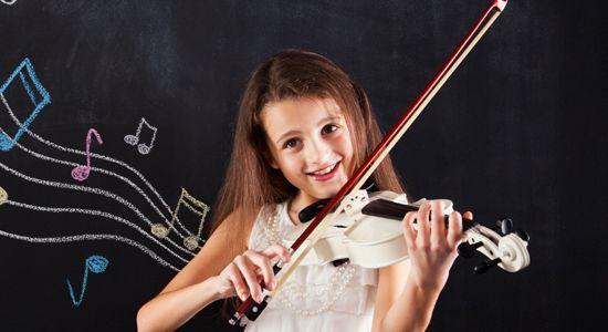 La música beneficia la etapa infantil cuando se toca un instrumento