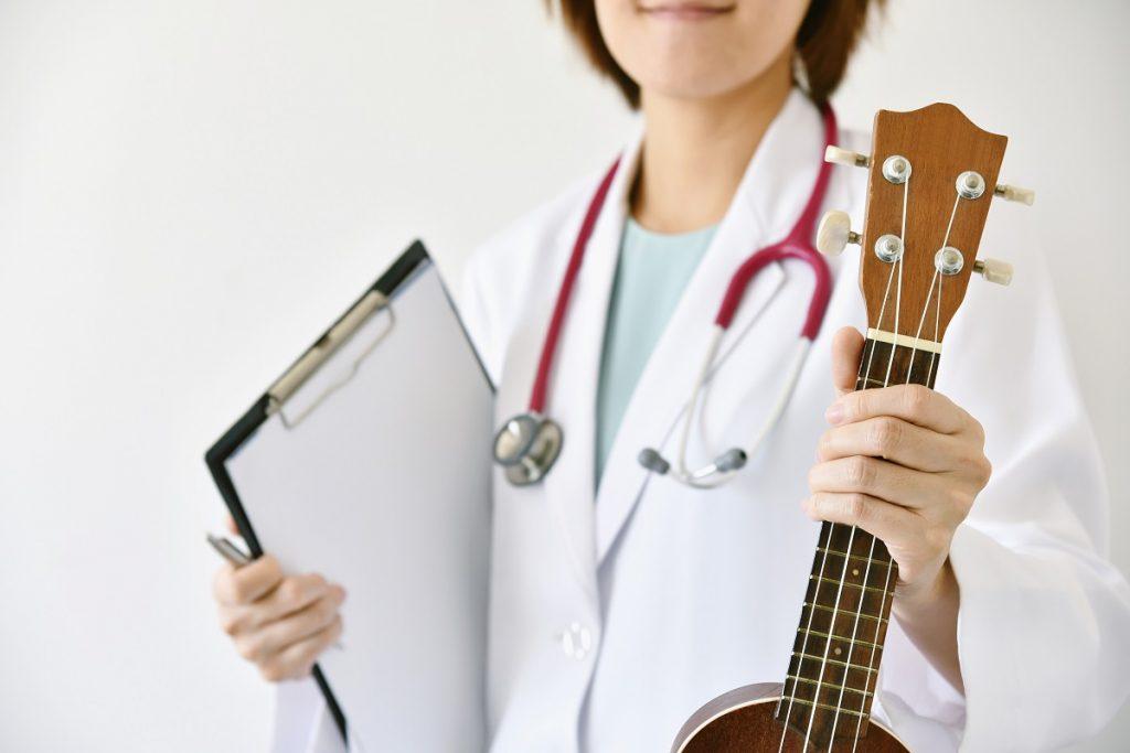 La música para la salud, también se puede estudiar en una maestría