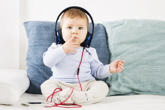 ¿Cómo afecta la música al desarrollo del bebé?